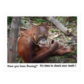 Recordatorio de la cita del dentista postal