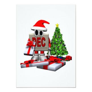 Recordatorio del navidad invitación 12,7 x 17,8 cm