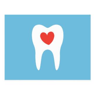 Recordatorio dental de la cita de la clínica del postal