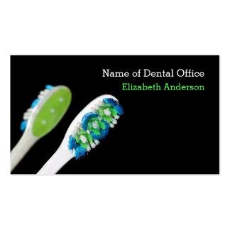 Recordatorio dental de la cita del dentista modern tarjeta de visita
