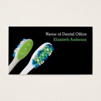 Recordatorio dental de la cita del dentista tarjeta de negocios