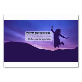 Recordatorio Encouraging para los chicas