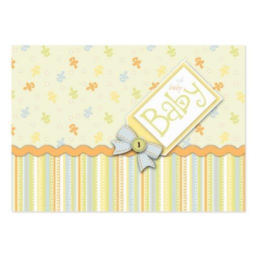 Recordatorio precioso Notecard del bebé Tarjetas De Visita