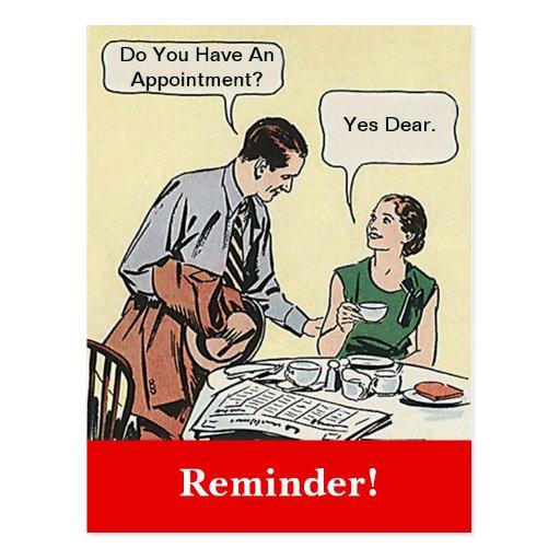 Recordatorio retro de la cita de los pares de la p tarjeta postal