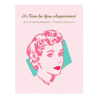 Recordatorio rosado de la cita de la belleza de la