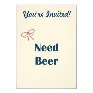 Recordatorios de la cerveza de la necesidad comunicados