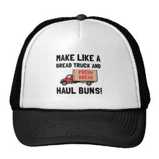 Recorrido del camión del pan gorras