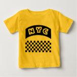 Recorte de NYC con el tablero de damas y la Camiseta