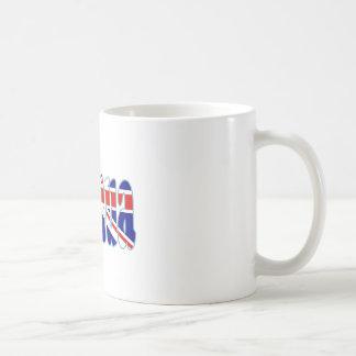 Recorte Joshua de Union Jack Tazas De Café