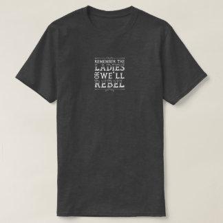 Recuerde a las señoras camiseta