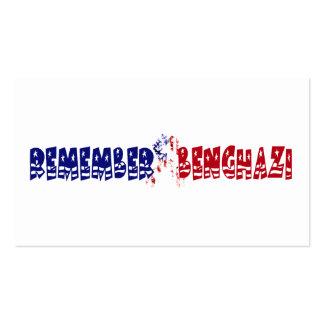 Recuerde Bengasi Plantillas De Tarjetas Personales