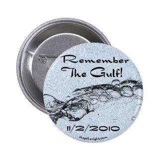 Recuerde el botón del golfo