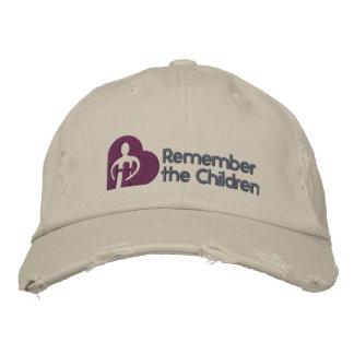 Recuerde el gorra básico de los niños