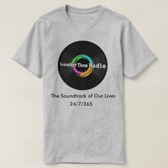 Recuerde entonces la camiseta de radio del