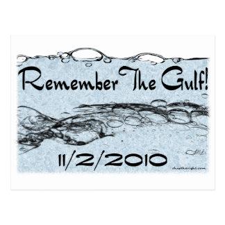 Recuerde la postal del golfo