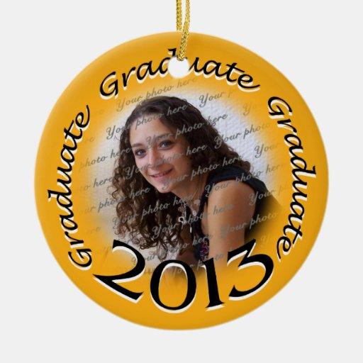Recuerdo 2013 de la foto del graduado ornamento de navidad