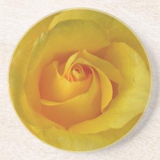 Recuerdo color de rosa soleado DEC de los regalos  Posavasos Manualidades