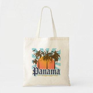 Recuerdo de ciudad de Panamá Bolsa Tela Barata