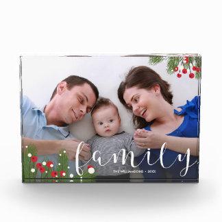 Recuerdo de encargo de la foto de familia de los