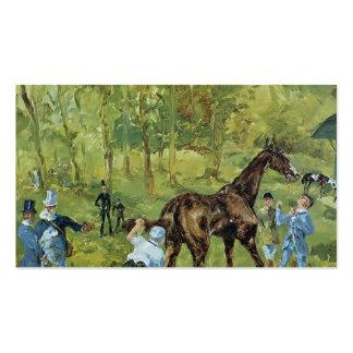 Recuerdo de Enrique de Toulouse-Lautrec de Auteuil Plantillas De Tarjetas De Visita