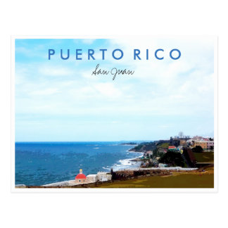 Recuerdo de la foto del viaje de San Juan Puerto Postal