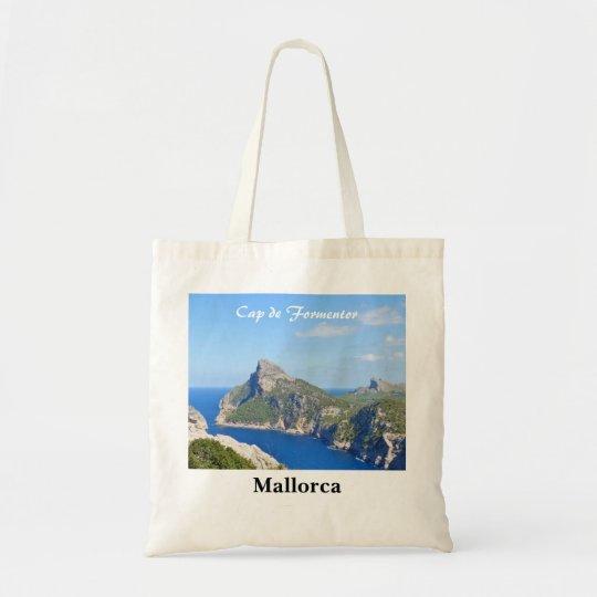 Recuerdo de Mallorca Cap de Formentor Travel Bolso De Tela