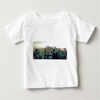 Recuerdo de New York City Camiseta De Bebé