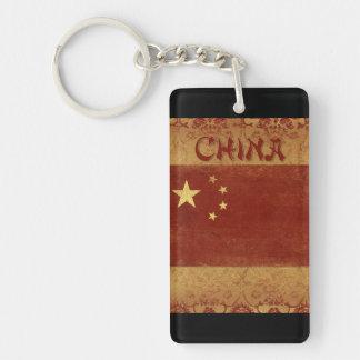 Recuerdo del llavero de China