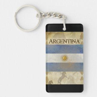 Recuerdo del llavero de la Argentina