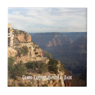 Recuerdo del parque nacional del Gran Cañón Azulejo Cuadrado Pequeño