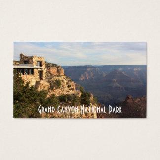 Recuerdo del parque nacional del Gran Cañón Tarjeta De Visita