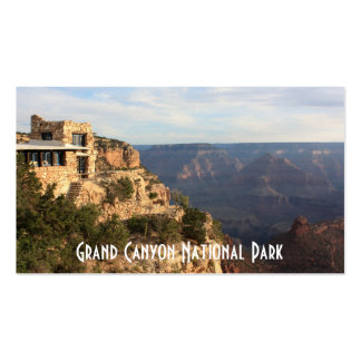 Recuerdo del parque nacional del Gran Cañón Plantillas De Tarjetas De Visita