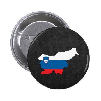 Recuerdo esloveno del viaje chapa redonda de 5 cm