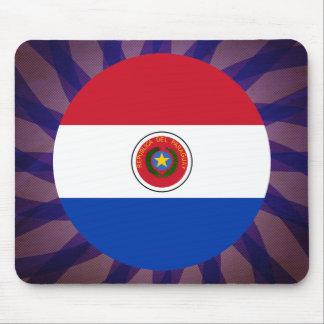 Recuerdo paraguayo de la bandera alfombrilla de ratón