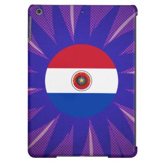 Recuerdo paraguayo de la bandera funda para iPad air