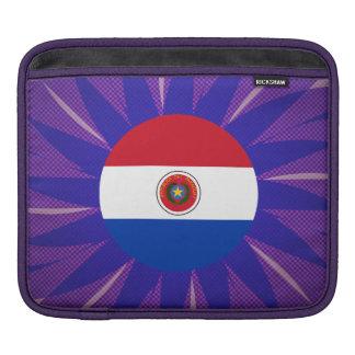 Recuerdo paraguayo de la bandera manga de iPad