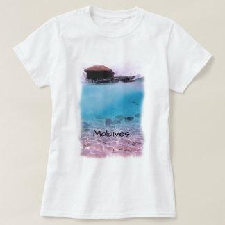 Recuerdo que bucea de la diversión tropical de camiseta