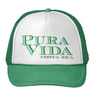 Recuerdo verde de Pura Vida Costa Rica Gorras