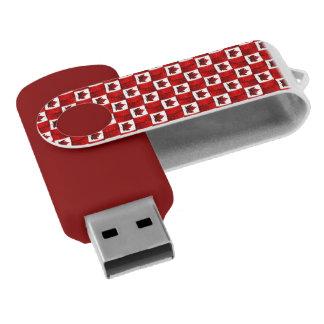 Recuerdos de Canadá de memoria USB de la bandera