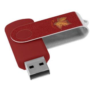 Recuerdos de Canadá de memoria USB de la hoja de
