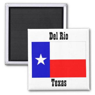Recuerdos de los imanes de la bandera de Del Río T Imanes