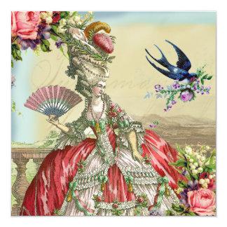 Recuerdos de Versalles Invitación 13,3 Cm X 13,3cm