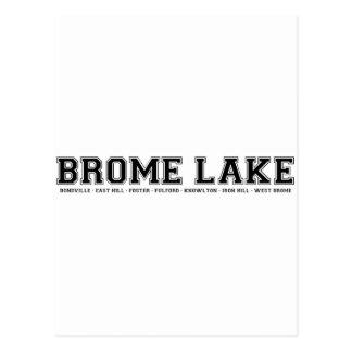 Recuerdos del lago Brome Postal