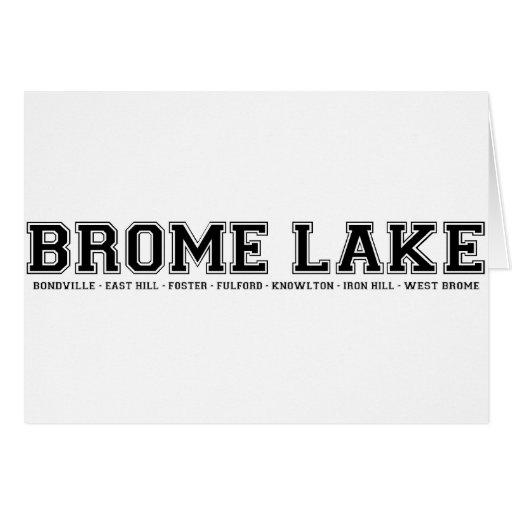 Recuerdos del lago Brome Tarjetas