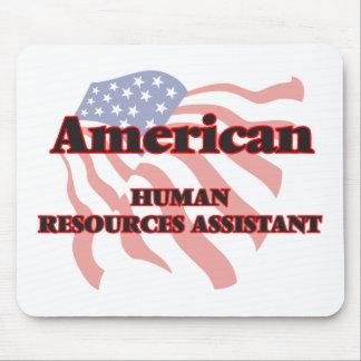 Recursos humanos americanos auxiliares alfombrilla de ratón