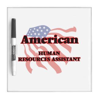 Recursos humanos americanos auxiliares pizarra