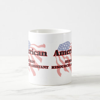 Recursos humanos americanos auxiliares taza básica blanca