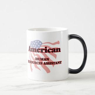 Recursos humanos americanos auxiliares taza mágica