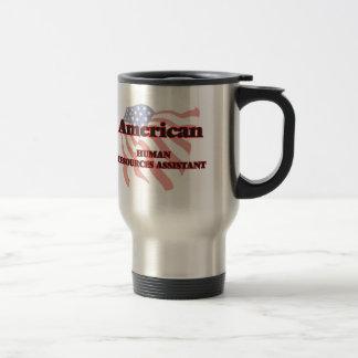 Recursos humanos americanos auxiliares taza térmica