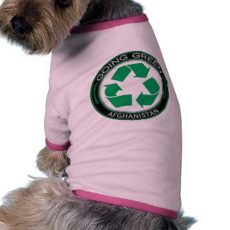 Recyle Afganistán Camisetas De Mascota